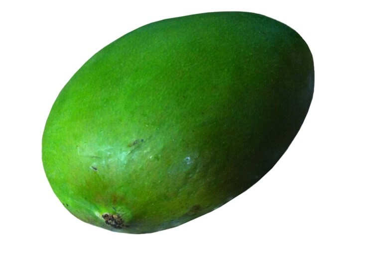 Green Raw Mango - 2 count
