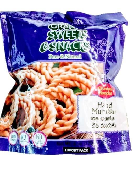 Grand Sweets Hand Murrukku - 170g