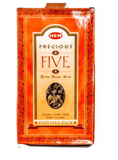Hem Precious 5 in 1 Incense Sticks - 4.23 Oz (Big Box)