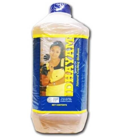 idhayam Gingelly Oil - 2 Litre