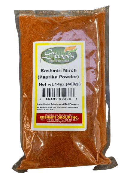 Siva Kashmiri Mirch Chilli Powder - 400 gms