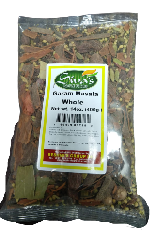 Siva Whole Garam Masala - 14 Oz