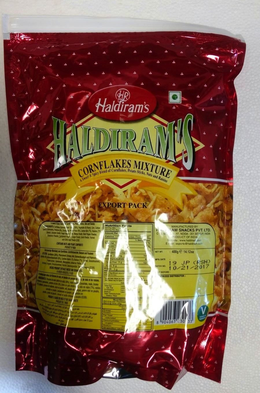 Haldirams Gujarati Mixture 7 Oz - 7 Oz