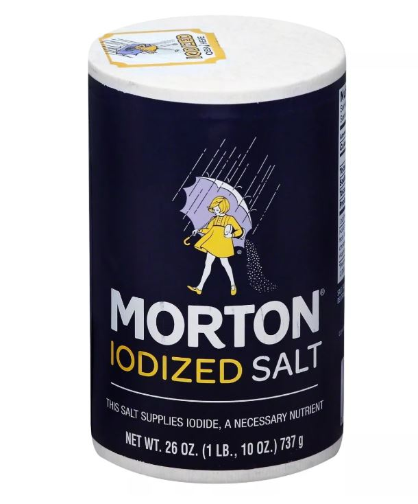 Morton Iodized Salt - 26 oz