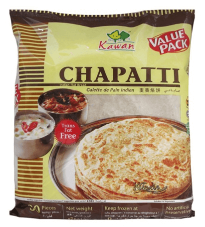 Kawan Chapatti Value Pack (Frozen) - 30 Pcs