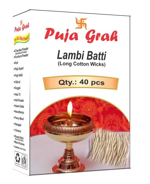 Puja Grah Lambi Batti