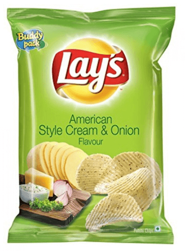 LAYS Calm Cream & Onion CHIPS - 55g