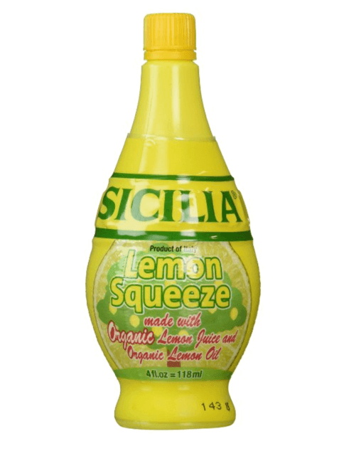 Sicilia Organic Lemon Juice - 4 oz