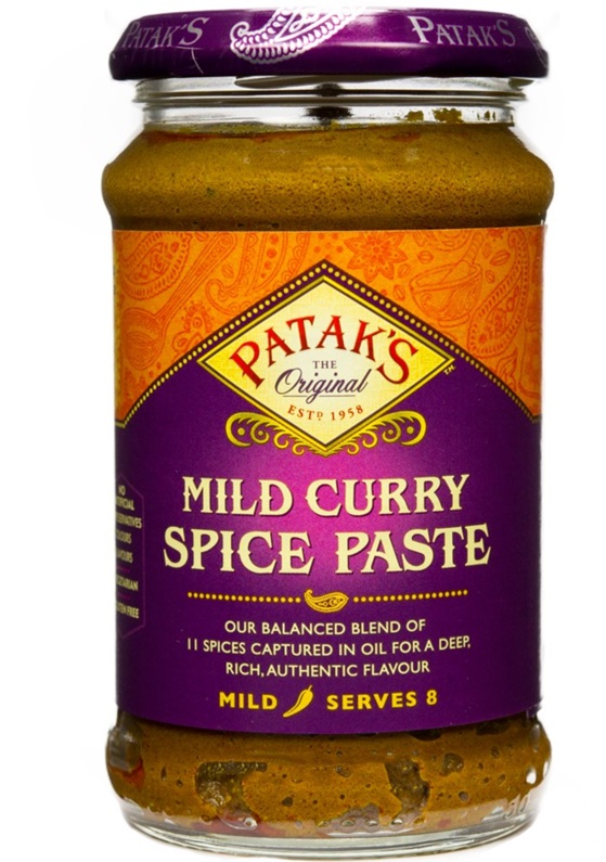 Patak concentrated madras Curry Paste - 10 Oz
