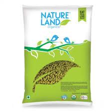 Nature Land ORGANIC Moong Whole - 5 lb
