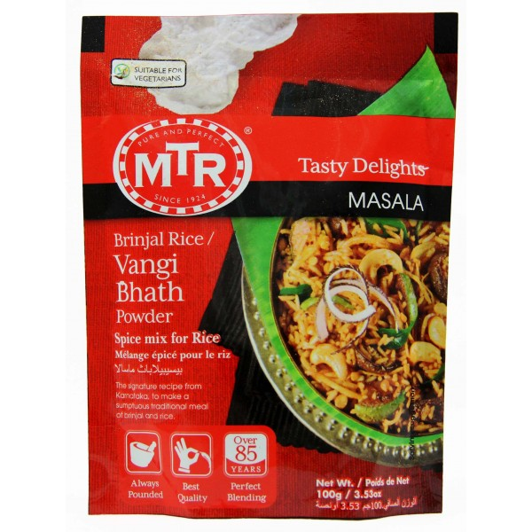 MTR Brinjal rice/Vangi Bhath Powder 100 Gms