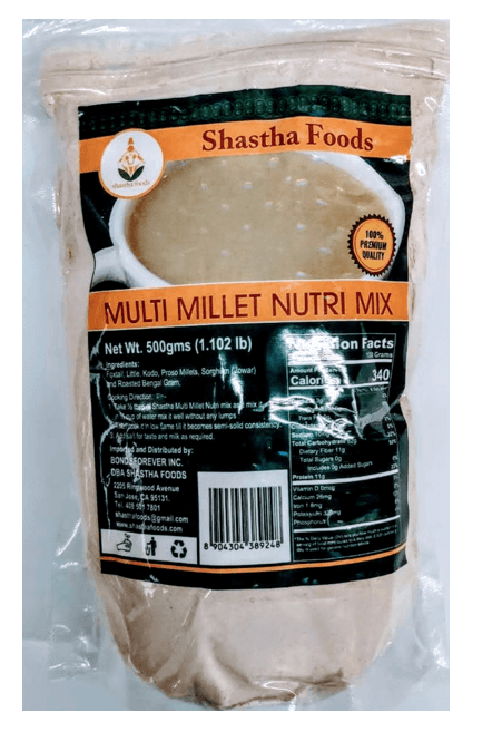 Shastha Multi Millet Nutrimix - 500g