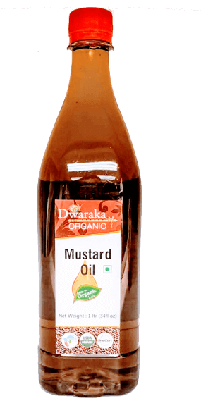 Dwaraka Organic Mustard oil - 1 ltr