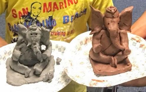 Create Your Own Clay Ganesha/Moist Terra kotta Clay Block