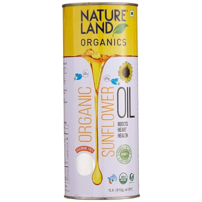 Nature land Organic Sunflower Oil 1 Ltr