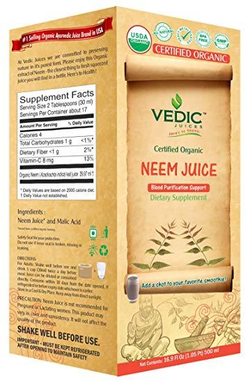 Vedic Organic Neem Juice - 500ml