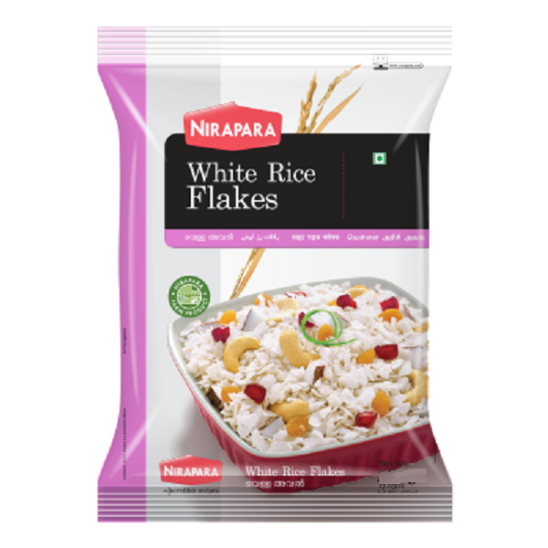 Nirapara Rice Flakes (White) - 400gm