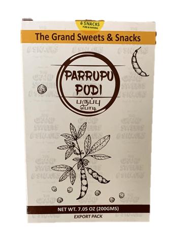 Grand Sweets Paruppu(lentils) Podi