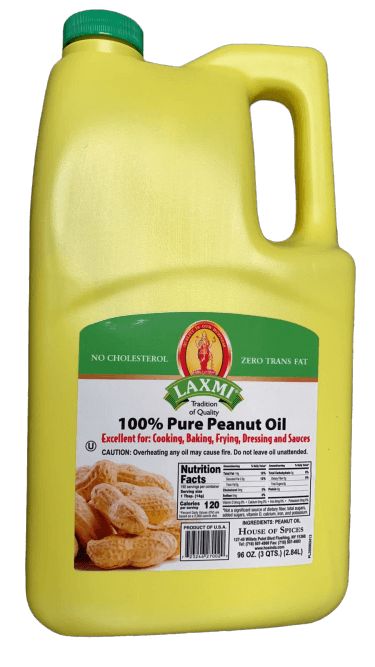 Laxmi Pure Peanut Oil - 96 oz