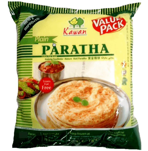 Kawan Plain Paratha Value Pack - 25 Pc