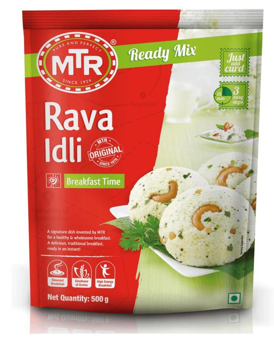 MTR Rava idli Breakfast Mix 500g