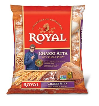 Royal whole wheat chakki Atta - 10 lb