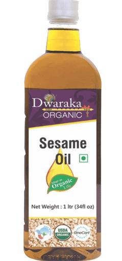 Dwaraka Organic Sesame Oil 1 Ltr