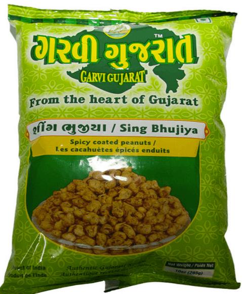Garvi Gujarati sing bhujiya (Spicy salted peanuts) - 10 Oz