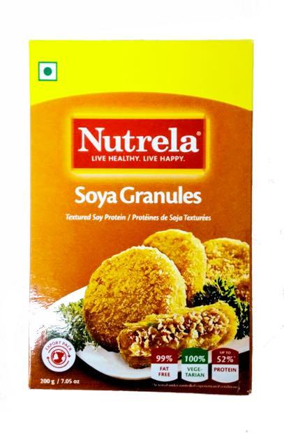Nutrella Mini Soya Chunk - 200 gm