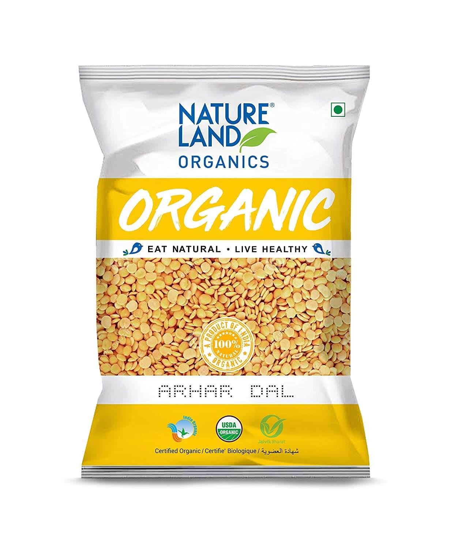 ORGANIC Nature Land Toor Dal - 5 lb