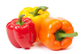 Tri-color Bell Pepper  - 1 pack of 3