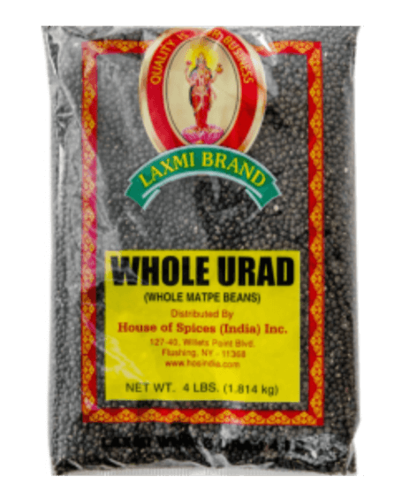 Laxmi Urad Whole (Black) - 2 lb