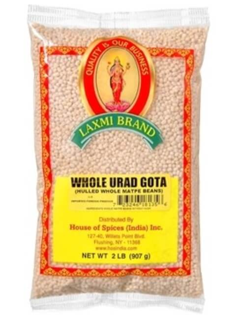 Laxmi Urad Whole Gotta (White) - 2 LB