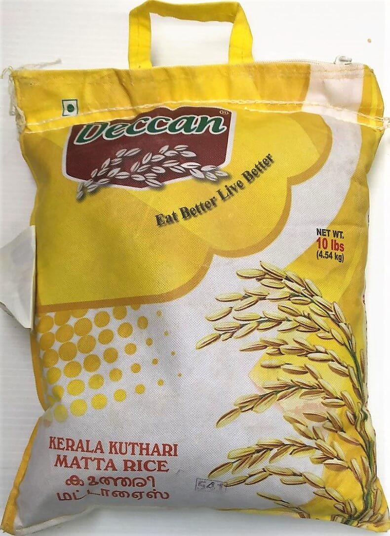 Deccan Kerala Matta Rice - 10 lb