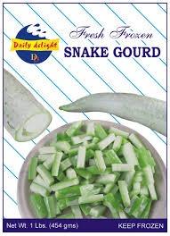 Daily delight Frozen Snake Gourd/Pudalankai  400g
