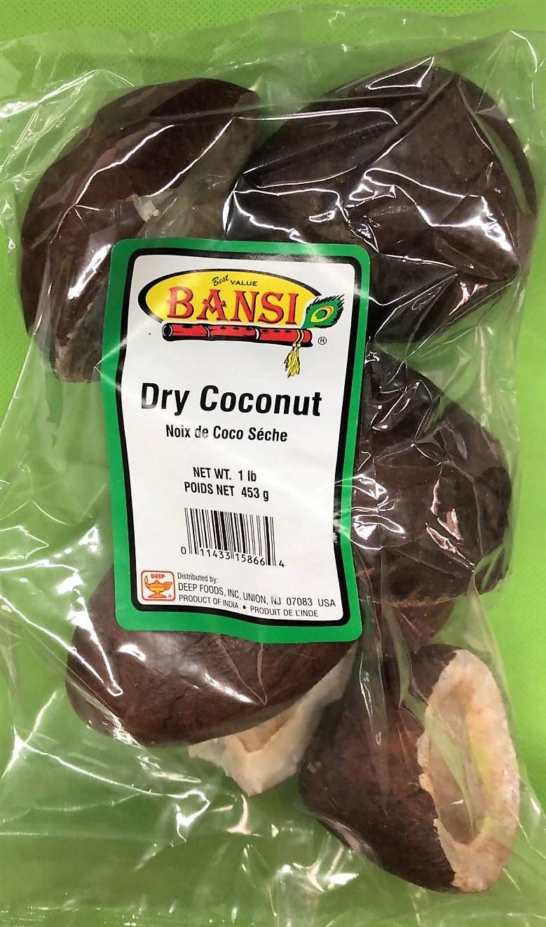 Bansi Dry Coconut 1lb