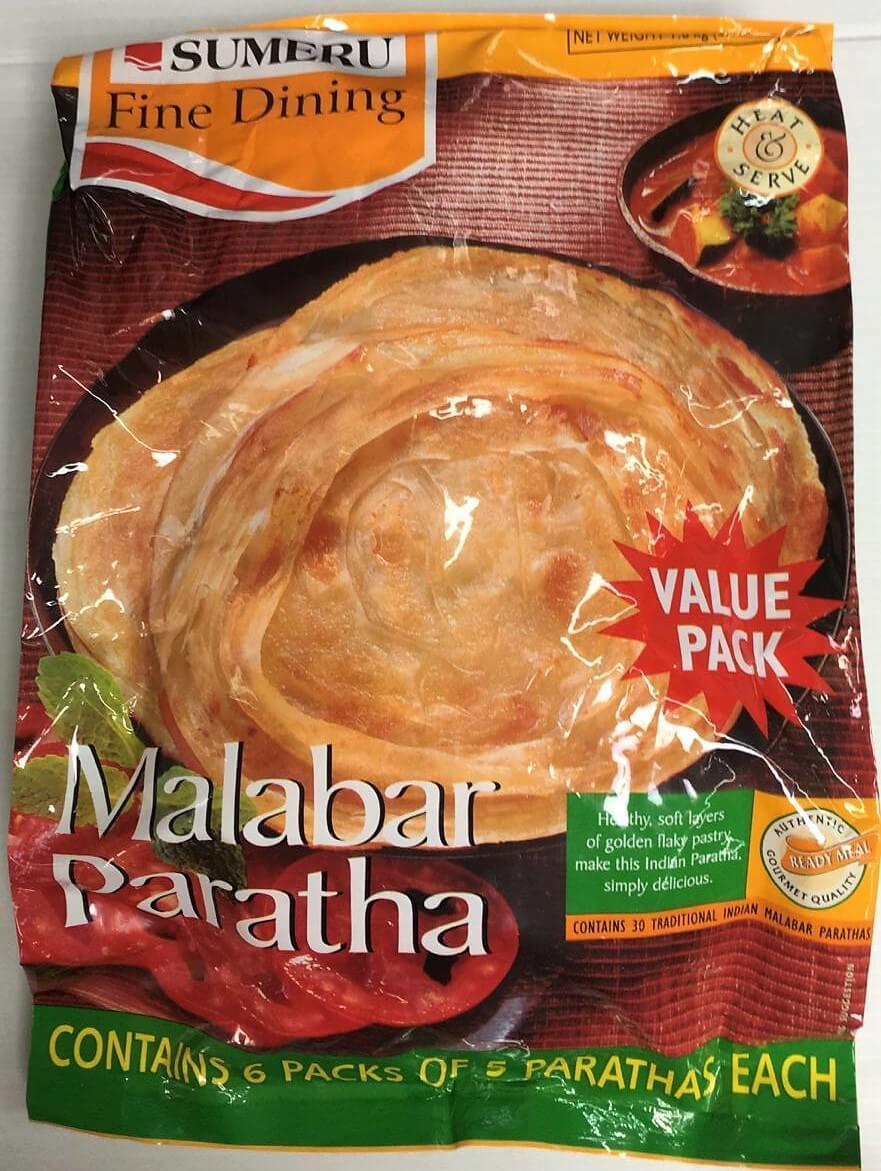 Sumeru Frozen Malabar Paratha -Family pack