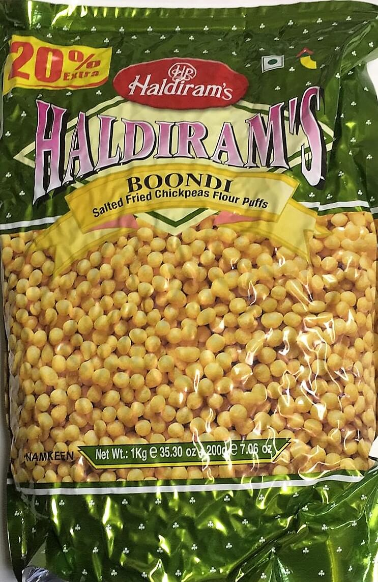 Haldirams Boondi Plain - 1 Kg