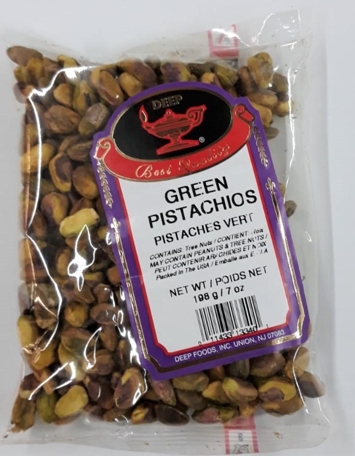 Deep Green Pistachios - 7 OZ