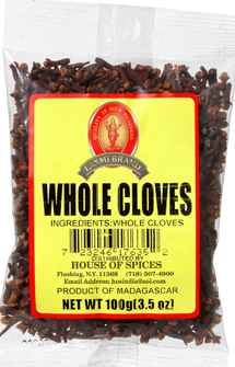 Whole cloves - 7 Oz